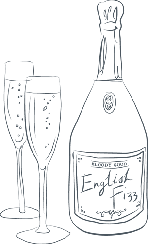 Award-winning English Fizz